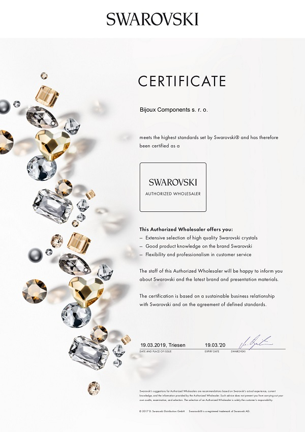 AW_Certificate_Bijoux Components 2019_600